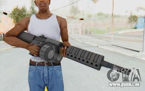 APB Reloaded - NFAS-12 pour GTA San Andreas troisième écran