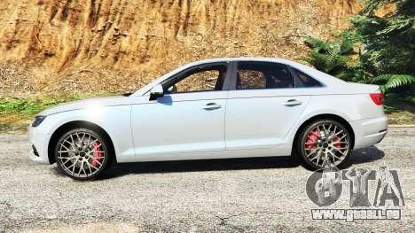 GTA 5 Audi A4 2017 v1.1 linke Seitenansicht