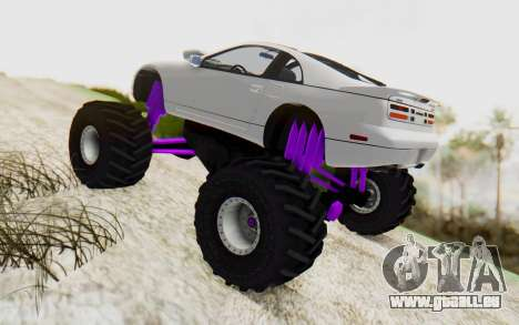Nissan 300ZX Monster Truck pour GTA San Andreas laissé vue