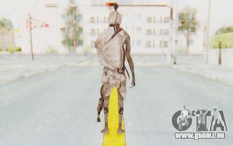 Pocong Skin pour GTA San Andreas troisième écran