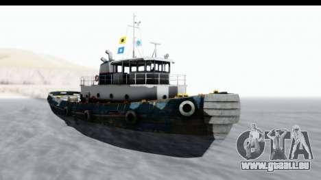 GTA 5 Buckingham Tug Boat v1 IVF für GTA San Andreas