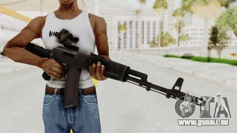 AK-74M v4 pour GTA San Andreas troisième écran