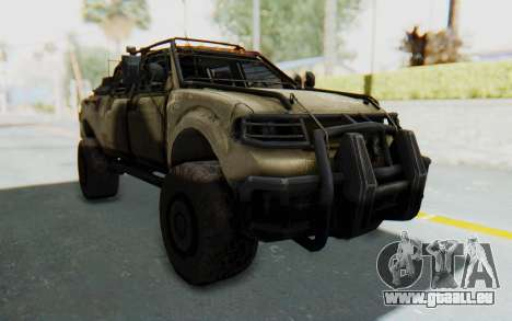 Toyota Hilux Technical Desert für GTA San Andreas rechten Ansicht