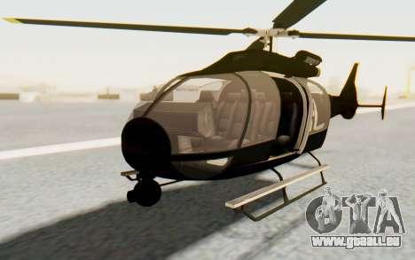 GTA 5 Maibatsu Frogger FIB für GTA San Andreas rechten Ansicht