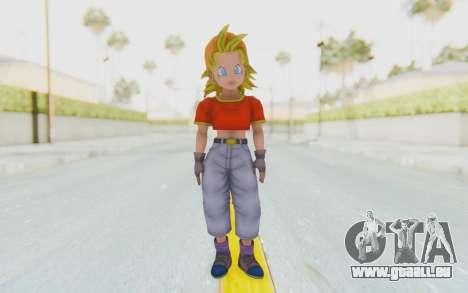 Dragon Ball Xenoverse Pan SSJ pour GTA San Andreas deuxième écran