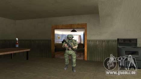 Marine-Corps-Kämpfer für GTA San Andreas siebten Screenshot