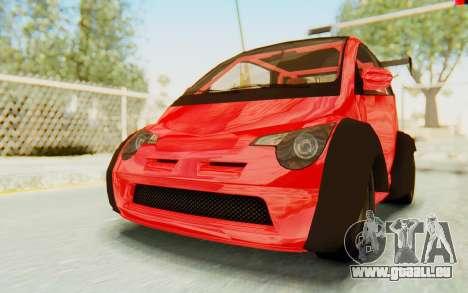 GTA 5 Benefactor Panto Custom für GTA San Andreas
