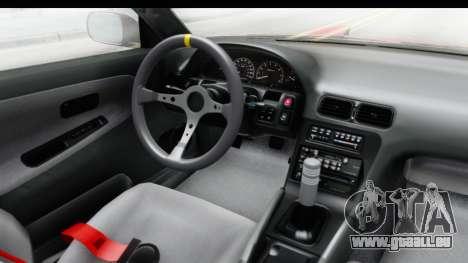 Nissan 240SX 1989 v1 pour GTA San Andreas vue intérieure