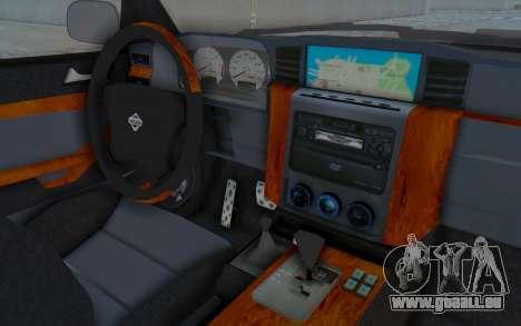 Nissan Patrol Y61 Off Road pour GTA San Andreas vue intérieure