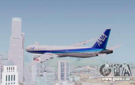 Boeing 777-300ER ZK-OKO - Smaug Livery für GTA San Andreas linke Ansicht