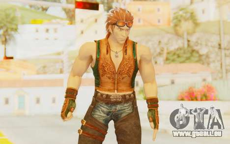 Hwoarang Skin pour GTA San Andreas