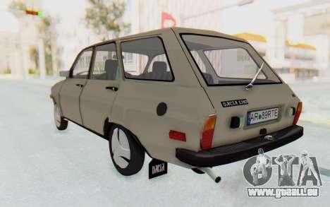 Dacia 1310 Break 1988 pour GTA San Andreas laissé vue
