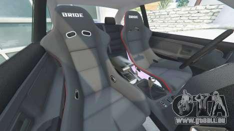 GTA 5 BMW M3 (E36) Street Custom [blue dials] v1.1 avant droite vue de côté
