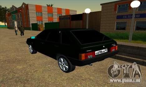 2109 v1.0 pour GTA San Andreas vue de droite