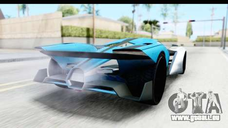 GTA 5 Grotti X80 Proto IVF pour GTA San Andreas laissé vue