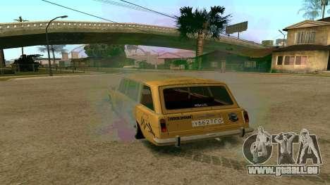 BK VAZ 2102 v1.0 Drift pour GTA San Andreas laissé vue
