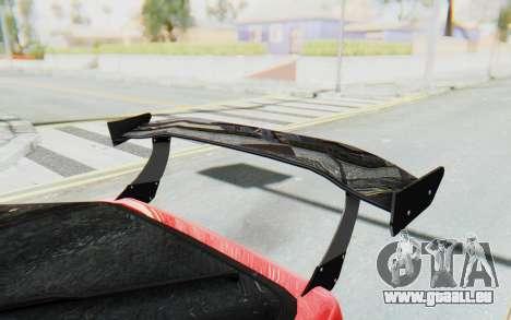 Mazda RX-7 FC3S BN Sport pour GTA San Andreas vue de dessus