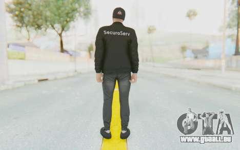 GTA Online Finance and Felony Skin 1 pour GTA San Andreas troisième écran