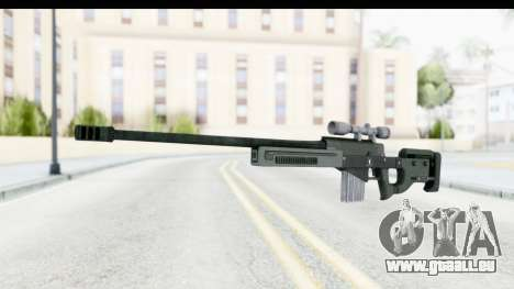 GTA 5 Shrewsbury Sniper Rifle für GTA San Andreas