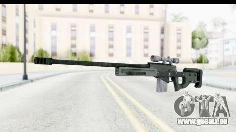 GTA 5 Shrewsbury Sniper Rifle pour GTA San Andreas