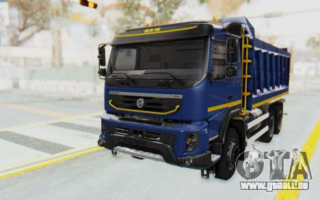Volvo FMX 6x4 Dumper v1.0 Color pour GTA San Andreas
