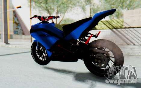 Yamaha Mx King 1000CC für GTA San Andreas linke Ansicht