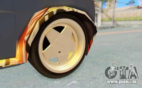 Fiat 126 für GTA San Andreas Rückansicht