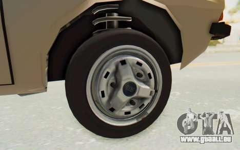 Dacia 1310 TLX pour GTA San Andreas vue arrière