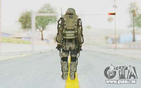 CoD AW US Marine Assault v2 Head B pour GTA San Andreas troisième écran