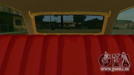 BK VAZ 2102 v1.0 Drift pour GTA San Andreas vue de dessus