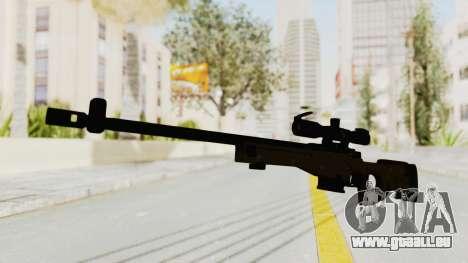 L96 pour GTA San Andreas deuxième écran