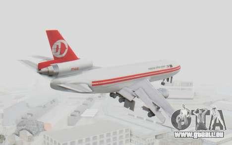 DC-10-30 Malaysia Airlines (Retro Livery) pour GTA San Andreas vue de droite