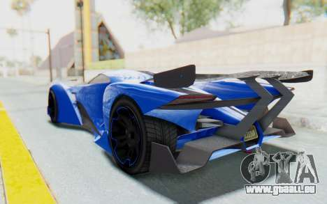 GTA 5 Grotti Prototipo v1 für GTA San Andreas linke Ansicht