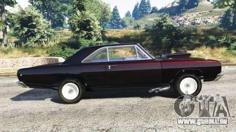 GTA 5 Dodge Dart 1968 Hemi linke Seitenansicht