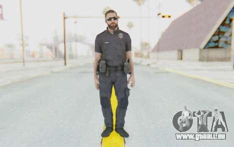 CoD BO2 LAPD v3 für GTA San Andreas zweiten Screenshot