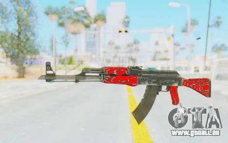 CS:GO - AK-47 Laminate Red für GTA San Andreas