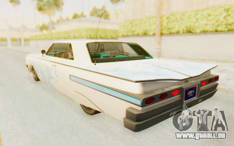 GTA 5 Declasse Voodoo SA Lights für GTA San Andreas