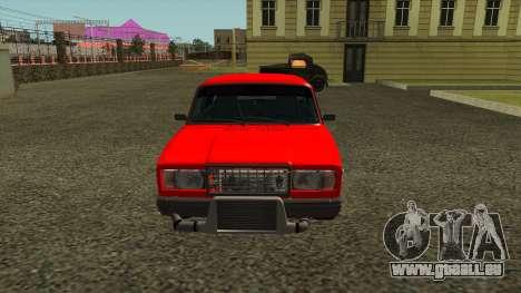 2107 pour GTA San Andreas laissé vue