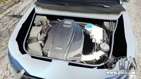GTA 5 Audi A4 2017 v1.1 hinten rechts