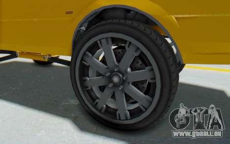 GTA 5 Willard Faction Custom Donk v1 IVF für GTA San Andreas Rückansicht