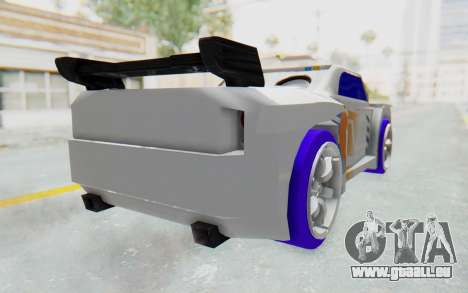 Hot Wheels AcceleRacers 3 pour GTA San Andreas laissé vue