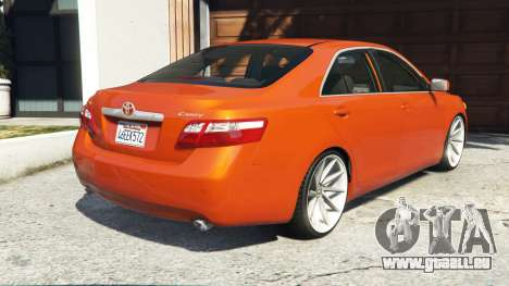 GTA 5 Toyota Camry V40 2008 [add-on] arrière vue latérale gauche