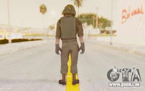 COD BO USA Pilot Vietnam pour GTA San Andreas troisième écran