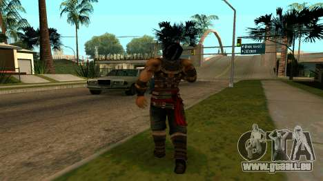 Prince Of Persia Warrior Within für GTA San Andreas dritten Screenshot