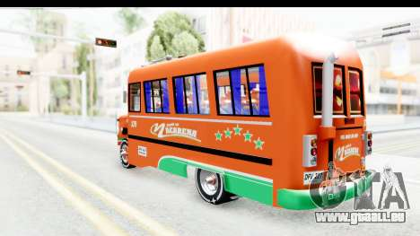 Dodge D600 v2 Bus pour GTA San Andreas laissé vue