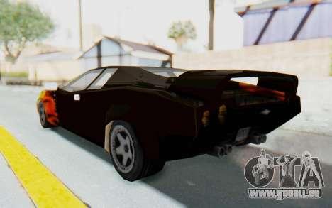GTA VC Cuban Infernus pour GTA San Andreas laissé vue