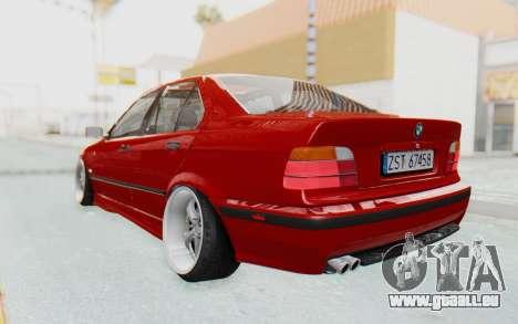 BMW M3 E36 2.5 TDS für GTA San Andreas linke Ansicht