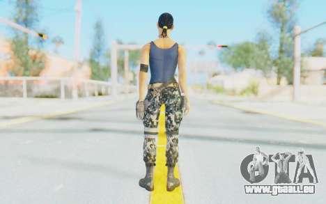 Mortal Kombat X - Jacqui Briggs pour GTA San Andreas troisième écran