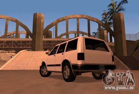 Landstalker SRT8 pour GTA San Andreas laissé vue