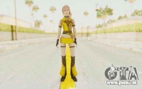 Final Fantasy XIII - Lightning Electronica pour GTA San Andreas deuxième écran